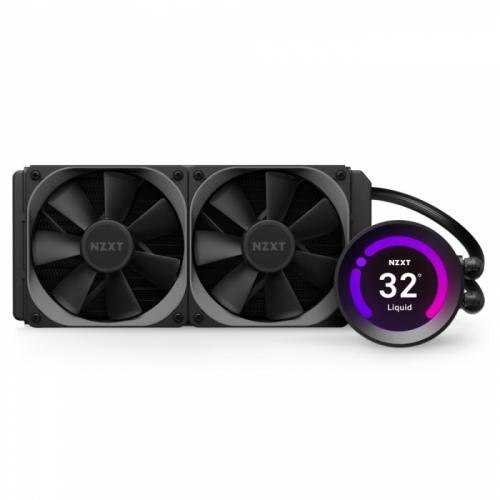"NZXT Kraken Z53 2.36"" Display [RL-KRZ53-01] 240mm AIO Liquid Cooler, RTL 8"