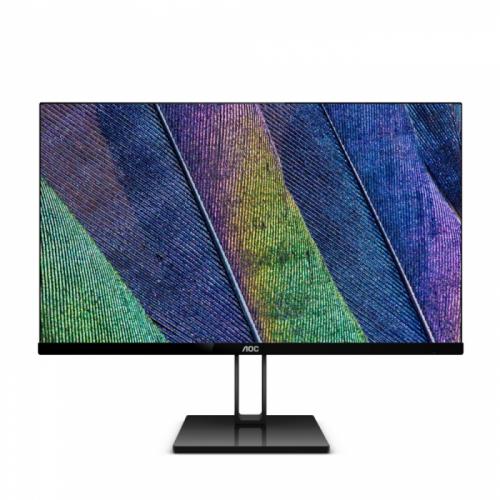 """23,8"""" AOC 24V2Q Black (IPS, 1920x1080, HDMI+DP, 5 ms, 178°/178°, 250 cd/m, 20M:1)  24V2Q"""