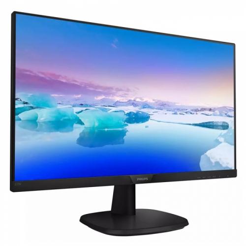"""27"""" PHILIPS 273V7QDAB (00/01) Black (IPS, 1920x1080, D-sub+DVI+HDMI, 4 ms, 178°/178°, 250 cd/m, 10M:1, MM)  273V7QDAB (00/01)"""