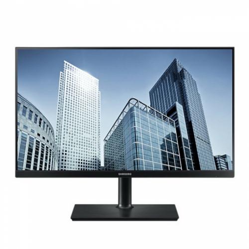 """23,8"""" SAMSUNG S24H850QFI Black (PLS, 2560x1440, HDMI+DP+USB, 4 ms, 178°/178°, 300 cd/m, 1000:1, Pivot)  LS24H850QFIXCI"""