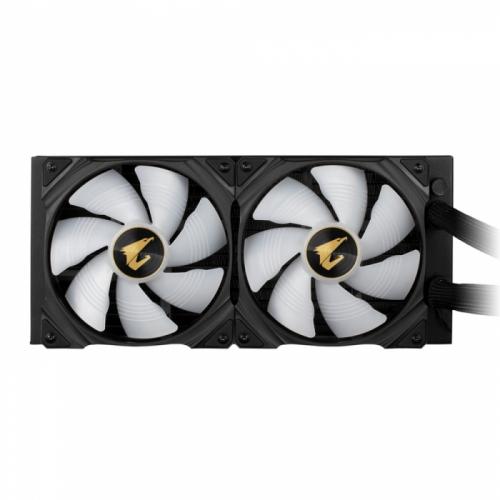 Gigabyte AORUS WATERFORCE X 280 , 2 x 140mm ARGB Fan, RTL 6