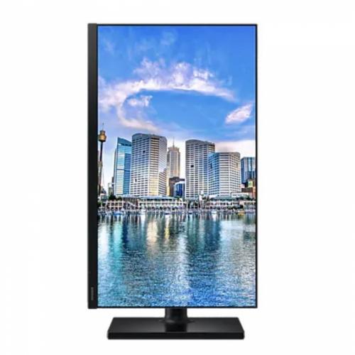 """24"""" SAMSUNG F24T450FQI Black (IPS, 1920x1080, HDMI+DP, 5 ms, 178°/178°, 250 cd/m, 1000:1, Pivot)  LF24T450FQIXCI"""