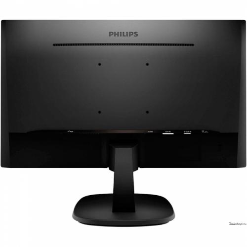 "23,6"" PHILIPS 243V5QHSBA (00/01) Black (MVA, 1920x1080, D-sub+DVI+HDMI, 8 ms, 178°/178°, 250 cd/m, 10M:1(3000:1)  243V5QHSBA (00"
