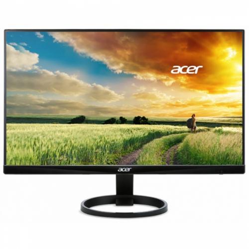 """23,8"""" ACER R240HYbidx Black (VA, 1920x1080, D-sub+DVI+HDMI, 4 ms, 178°/178°, 250 cd/m, 1000:1 (100M:1), (538264)  UM.QR0EE.026"""