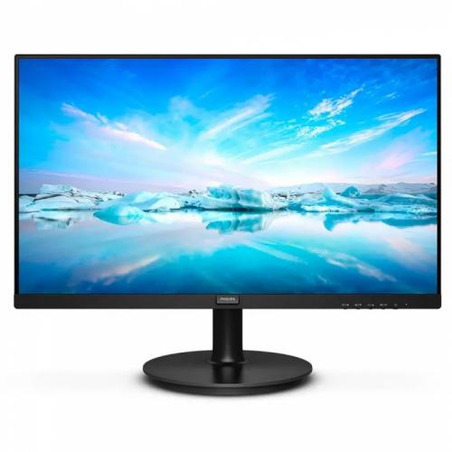 """21,5"""" PHILIPS 222V8LA (00/01) Black (VA, 1920x1080, D-sub+HDMI+DP, 4 ms, 178°/178°, 250 cd/m, 3000:1, MM)  222V8LA (00/01)"""